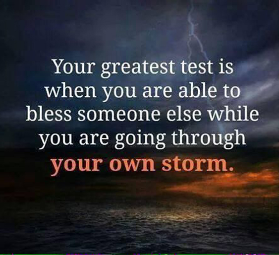 going-through-your-own-storm-life-quotes-sayings-pictures